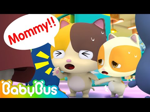 Mommy, I'm Lost   Safety Tips for Kids   Nursery Rhymes   Cartoon for Kids   BabyBus