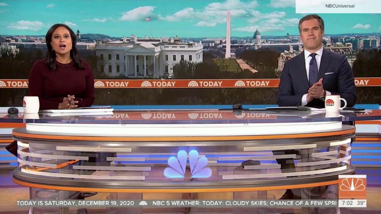 NBC News 'Today' Saturday, Dec. 19, 2020 new set intro