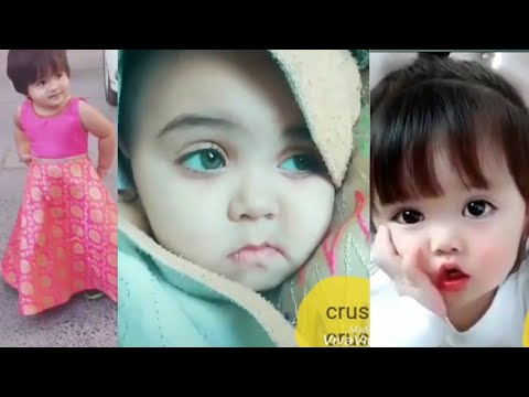 cute baby girl part 2 latest video musically\tiktok india||video zone||musically video||tiktok video