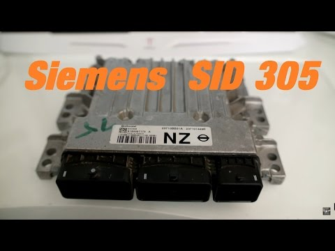 SIemens Sid 305 ECU Opening and reading via Ktag boot mode - YouTube