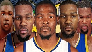 Kevin Durant From NBA 2K8 to NBA 2K17