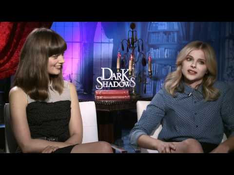 Chloe Grace Moretz and Bella Heathcote talk 'Dark Shadows'