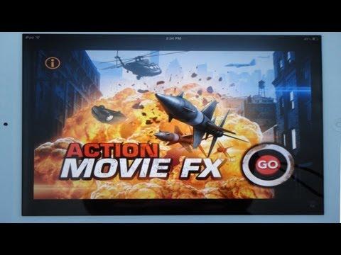 Action Movie FX  Effects Demo iPhoneiPad App