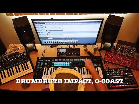 Repeat Novation 61 SL MkIII - Using with external hardware