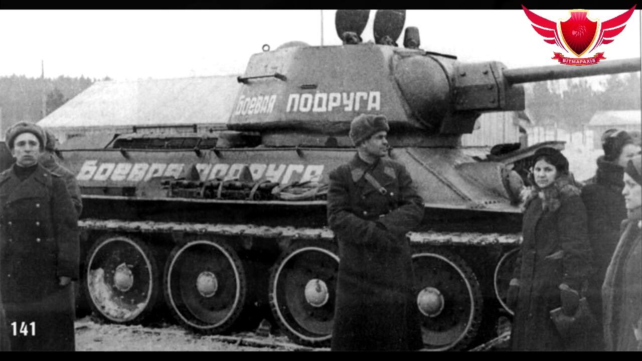 cd15657e2363b T-34 Tank Ace - Mariya Oktyabrskaya