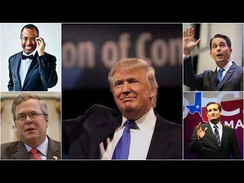 Spokesman Impressive In The Debates Of The US Republican Party - Presidential Debate 2015