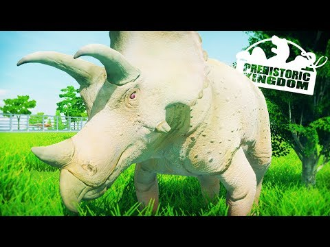 ALBINO DINOSAURS & NEW KICKSTARTER   Prehistoric Kingdom