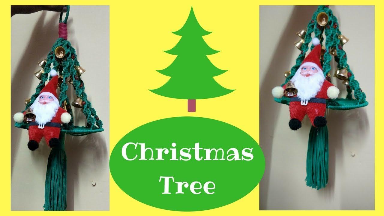 Macrame Tree Christmas special | How to make macrame tree step by ...