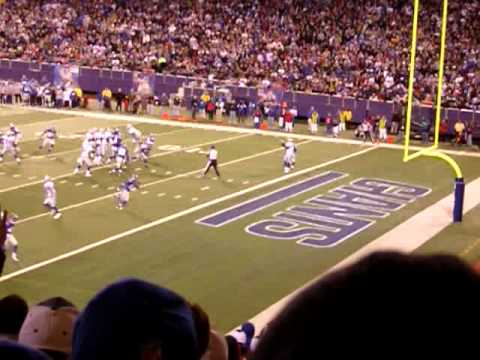 Brad Johnson TD Pass to Terrell Owens Cowboys @ Giants 4