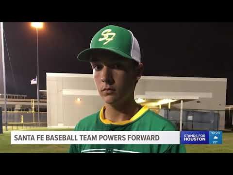 Santa Fe baseball team powering forward in face of tragedy