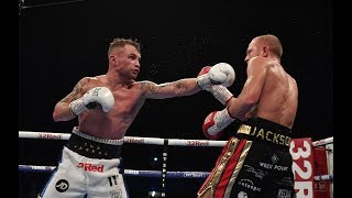 Carl Frampton vs Luke Jackson fight highlights and knockout from Windsor Park