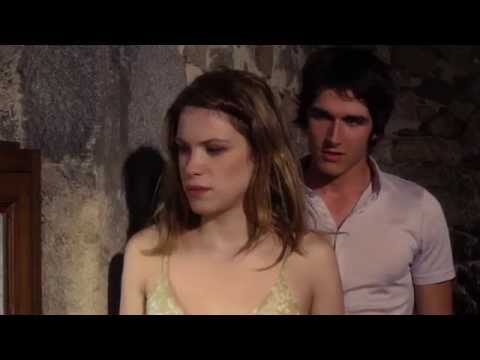 Pierre Boulanger and Hande Kodja in THE UNLIKELY GIRL: The Kiss