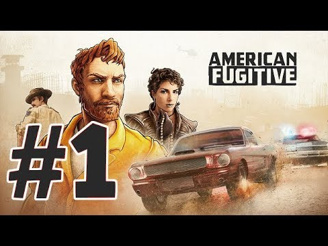AMERICAN FUGITIVE - PART 1 , ESCAPE FROM THE PRISON |