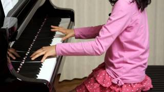 2013年3月25日 録画、 使用楽譜; 月刊ピアノ2013年4月号.