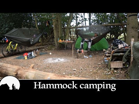 wild camping in the woods (1M VIEWS)