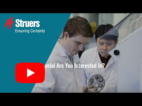 Struers Material Application Notes - How To Improve Sample Preparation