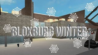 Our BloxBurg Winter!! / Roblox BloxBurg