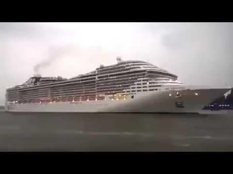 Гудок круизного лайнера