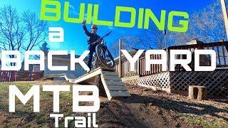 Building Backyard MTB Trails