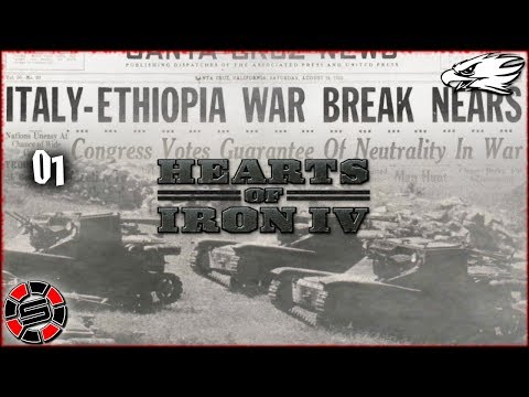 ETHIOPIA MINI-SERIES ~ HOI IV ~ Road To 56 Mod ep01