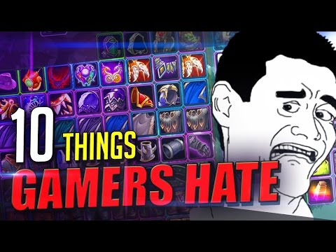 10 Things Gamers HATE doing in Video Games