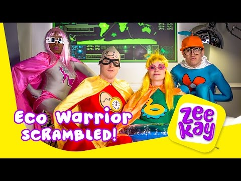 Eco Warrior and Super Stylist | Scrambled! | ZeeKay
