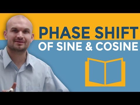 How do you determine the phase shifts for sine and cosine graphs