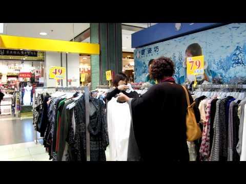 Jay and Sharon - Guangzhou - Shopping in China