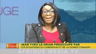 LIGNE ROUGE DU 30 05 2019 JEAN YVES LE DRIAN PRÉOCCUPÉ PAR LA SITUATION DU CAMEROUN