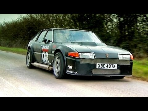 Driving A Rover SD1 With A Plane Engine TBT Fifth Gear