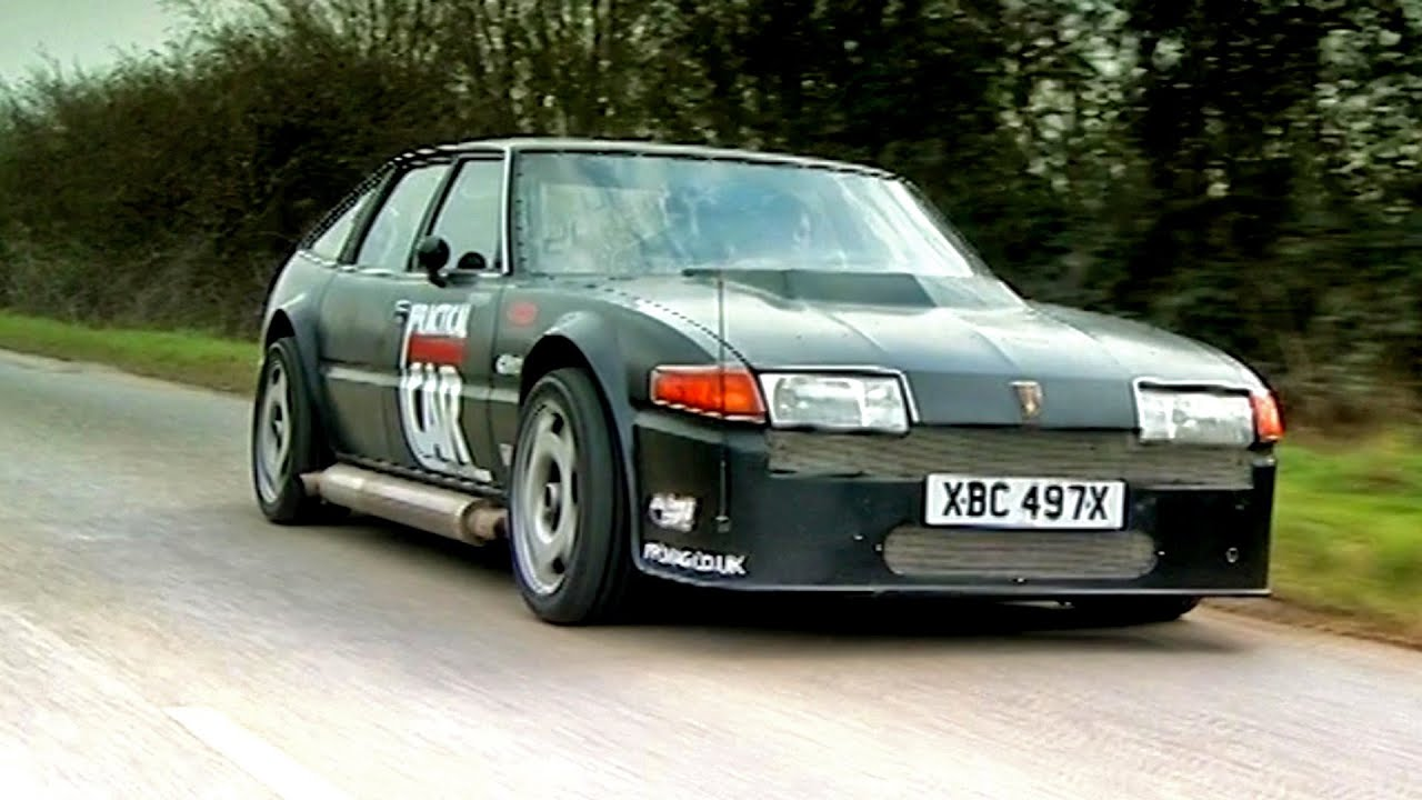 Phim22 Video Driving A Rover Sd1 With A Plane Engine Tbt Fifth Gear