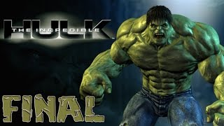 The Incredible Hulk - Walkthrough - Final Part 23 - Ending | Credits (PC) [HD]