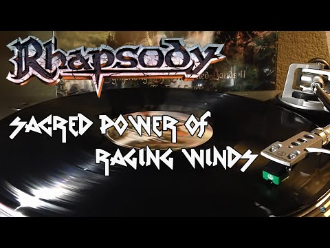 Rhapsody - Sacred Power Of Raging Winds - Black Vinyl LP