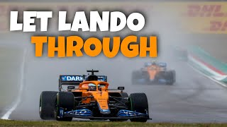 TEAM ORDERS AT Mclaren! lando norris & daniel ricciardo FULL TEAM RADIOS | 2021 Imola GP