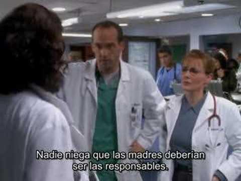 Bloopers ER season 3 Tomas falsas Urgencias subtitulado