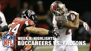 Buccaneers vs. Falcons | Week 8 Highlights | NFL