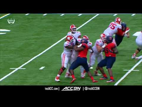 Clemson vs. Syracuse Condensed Football Game (2017)