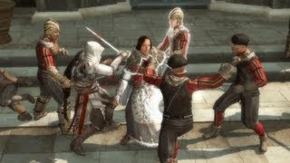 Ezio Saves Lorenzo Medici. Pazzi Kill Guiliano  Assassin's Creed 2   Wolves In Sheep's Clothing