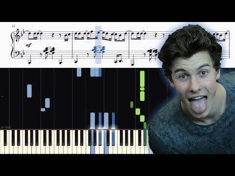 Shawn Mendes - Lost In Japan - Piano Tutorial + SHEETS