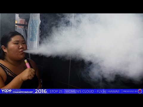 VC Cloud Championship 2016 - Fly Hi Hawaii, HI - Women's Biggest Cloud