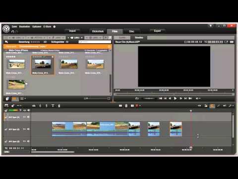 Clips kopieren in Pinnacle Studio 16 und 17 Video 42 von 114