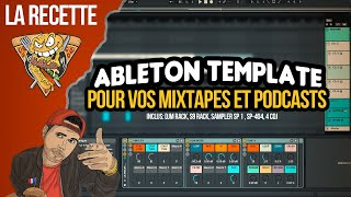 ABLETON TEMPLATE - MIXTAPE & MASH'UP TEMPLATE