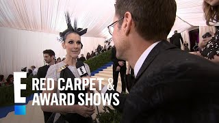 celine dion sings on the 2017 met gala red carpet   e live from the red carpet