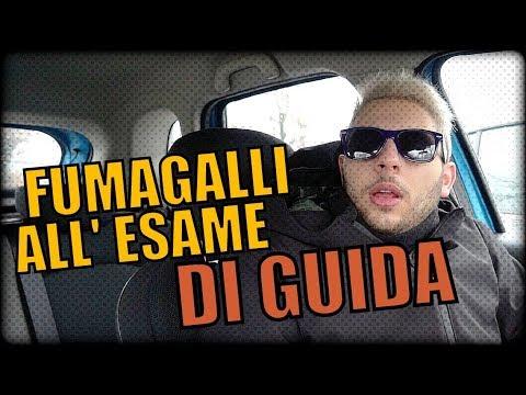 FUMAGALLI ALL' ESAME DI GUIDA