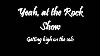 Repeat youtube video Halestorm - Rock Show Lyrics