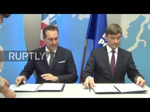 Russia: United Russia and Austria's FPO sign cooperation agreement