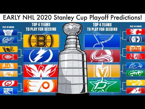 EARLY NHL 2020 Stanley Cup Playoff Predictions! (Hockey Bracket & Cup Prediction/Format News Talk)