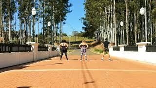 7 RINGS REMIX    ARIANA GRANDE (FEAT 2 CHAINZ) - COREOGRAFIA ZUMBA Video