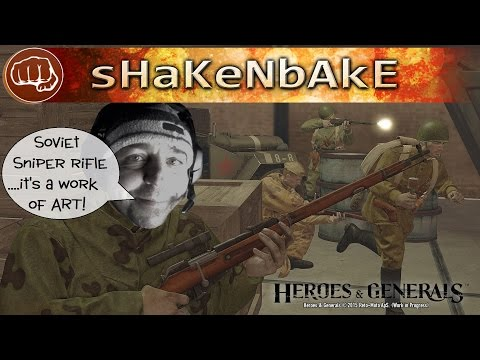 Heroes & Generals- New Soviet Sniper Rifle...AWESOME!! [1080]