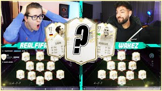FIFA 21: RANDOM PRIME ICON MOMENTS Squad Builder Battle ☠️☠️ vs Wakez
